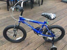 "Kids' bikes : 14"" wheel, 4-6 yrs"