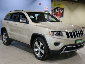 2015 Jeep Grand Cherokee Limited 4X4 A/C CUIR MAGS