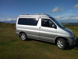 Mazda Bongo Autofreetop V6. Low mileage long MOT. Alloy wheels, awning and window screens included.