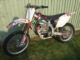 motocross bike Honda CRF450r