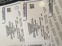 2 x Macklemore Tickets, O2 Glasgow