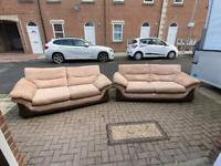 DFS 3 seater sofa set Delivery available