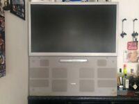 """50"""" Toshiba rear projection TV"""
