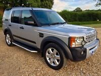 2008 Land Rover Discovery 3 HSE 2.7 TDV6 Auto Silver - Very High Spec TV Sat Nav