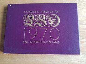 PROOF 1970 COINS SET