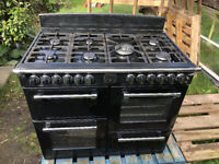 Stoves dual fuel / free standing / range cooker / 100cm