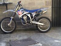 2009 Yamaha Yzf 250 yz250f yzf250 very fast and powerful