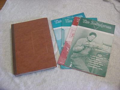 Vintage Lot of 17 Deltagram 1945, 46, 47, 48, 49