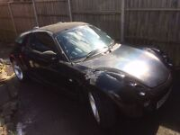 Smart roadster 54 plate coupe ........great car!