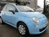FIAT 500 1.2 Pop 3dr (start/stop) (blue) 2011
