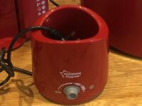 Tommy Tippee Red Baby Bottle Warmer