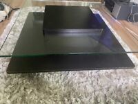 Glass / Wooden Coffee Table