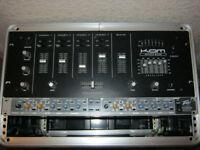 peavey 3-way crossover & kam 4 channel dj mixer