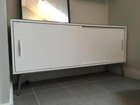 High Gloss White Sideboard Cabinet