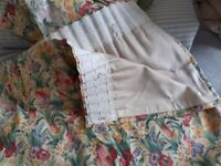 2 Pairs of Matching Curtains in Sanderson Fabric