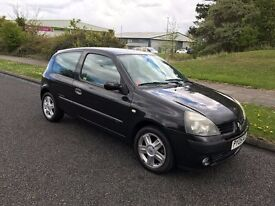 2005 RENAULT CLIO 1.2 EXTREME 3 DOOR, LOW MILEAGE, FULL MOT