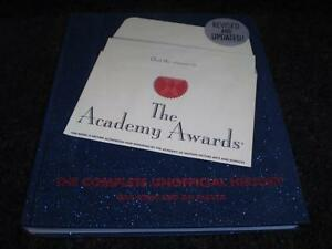 HC BOOK THE COMPLETE UNOFFICIAL HISTORY OF THE ACADEMY AWARDS Windsor Region Ontario image 1