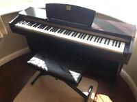 Digital Yamaha Piano with stool