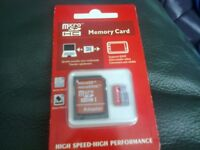 New sealed 128gb memory card for sale