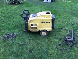 KARCHER INDUSTRIAL PRESSURE WASHER HDS 557Ci (240 volt) In need of overhaul/service.