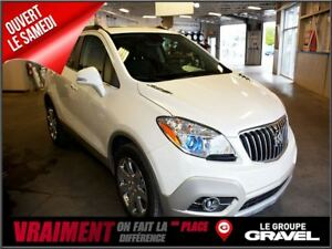 2016 Buick Encore Leather GPS AWD BLUETOOTH CUIR