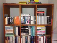 Gorgeous Imposing Wooden bookshelf for sale,