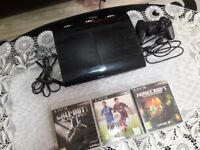 Playstation 3 (PS3) Super Slim 500GB with 3 games included and one controller