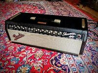 FENDER SHOWMAN 1966 AA763 BLACKFACE EX CHUCK BERRY / JACK WHITE POST CBS