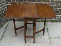 FREE DELIVERY Vintage Drop Leaf Table Retro Furniture