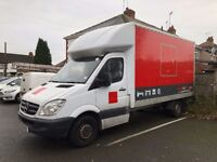 2008 08 MERCEDES SPRINTER 2.1 CDI CHASSIS CAB LUTON VAN ONE PREVIOUS KEEPTER FULL MOT PX SWAPS