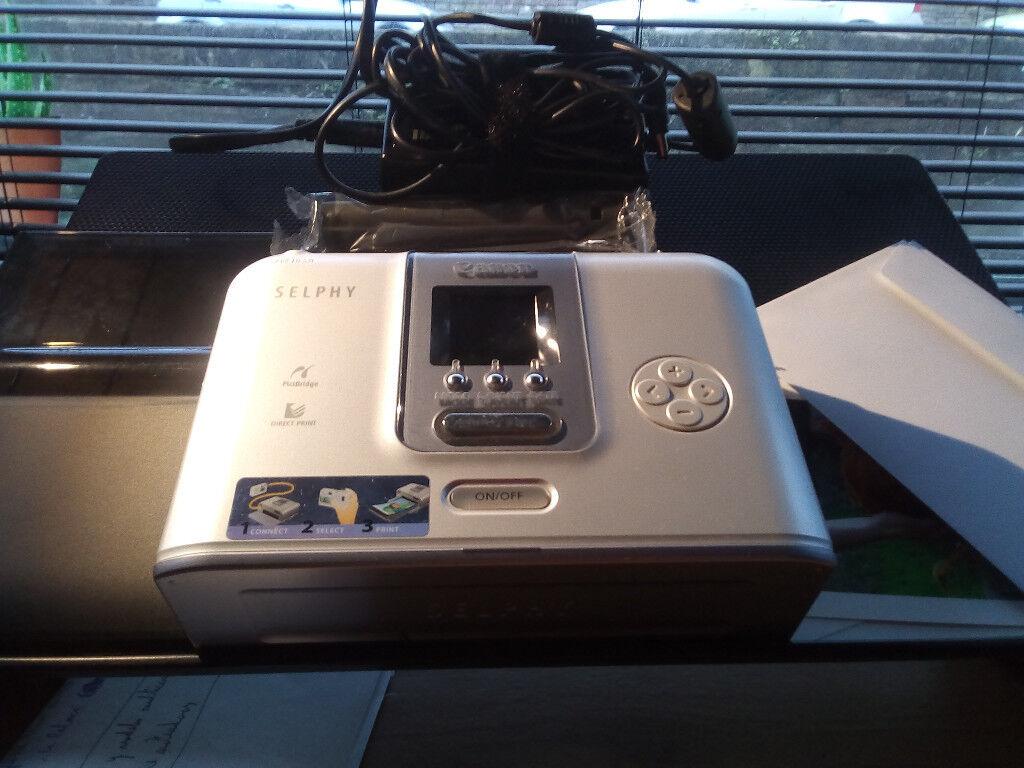 Canon selphy compact photo printer cp710