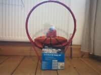 Brand New unused Basketball & hoop set