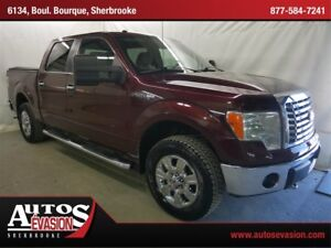 2010 Ford F-150 XLT 4 X 4 + BLUETOOTH + 6 PLACES