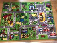 Large carpet play mat