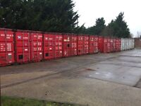 20ftx8ft storage containers £20 pw