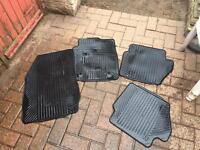 Fiesta car mats