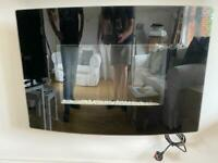 Electric Fireplace, glass front with remote control