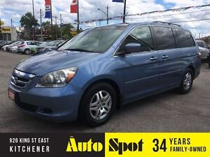2007 Honda Odyssey EX-L/LOW, LOW KMS!/TOP OF THE LINE ODYSSEY!