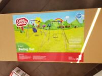 Boxed and sealed chad valley childrens garden swing