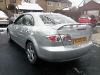 2005 MAZDA 6 1.8 s , m.o.t / full service history from new