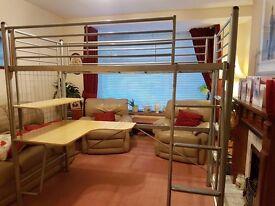 Metal Frame Cabin Bed