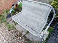 Garden bench / seat (2 person)