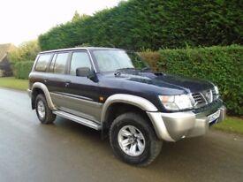 2002 Nissan Patrol GR SE PLUS TD 3l
