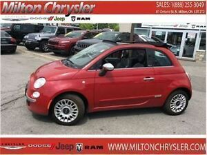 2015 Fiat 500C Lounge Cabrio Leather Handsfree