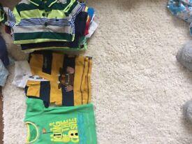 Bundle baby boy tshirts