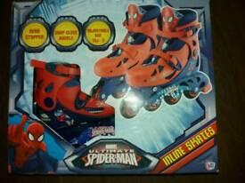 Spiderman inline Skates