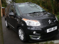 CITROEN C3 PICASSO EXCLUSIVE * 69 MPG / £30 YEAR ROAD TAX / INSURANCE GROUP 4 *