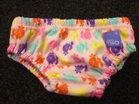 REDUCED Bambino mio reusable swim nappy 6-12 months