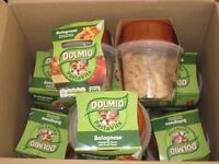 Box of 9 DOLMIO PASTA VITA BOLOGNESE pots / Microwave Ready Meals / food RRP £18