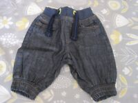 baby jeans - 0/3 months - Ted Baker - denim